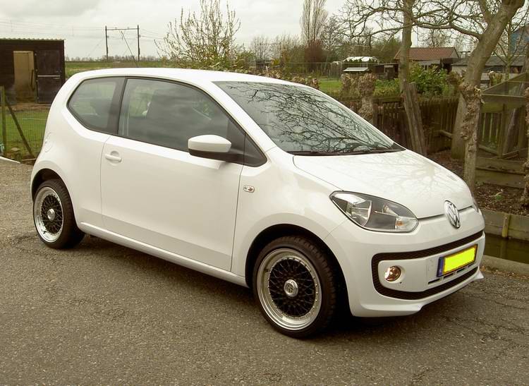 VW Up met 16 inch BSX